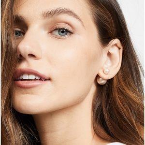 Shashi Double Pearl Earrings